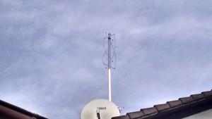 QFH Antenne für 137 MHz