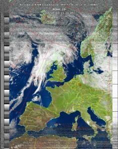 MultispektralAnalyse (MSA) Bild vom 10.7.2015